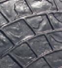 Concrete Stamping Tools - Radial Cobblestone Granite by Increte SRAC SOO1