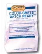 Increte Integral Color - Color Crete Powder