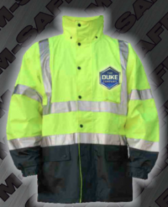 Safety Rain Jackets - ANSI 107-2010 Class 3 Rain Jacket