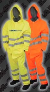 Safety Rain Trousers - ANSI 107-2010 Class 3 Rain Pants