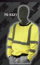 Safety Sweatshirts - ANSI Class 3 Crew Neck Sweatshirt
