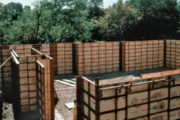 Picture of Steel-Ply Concrete Forms for Rent by Symons