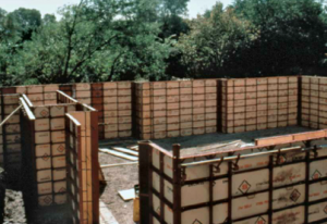 picture of steelply concrete forms for rent by symons