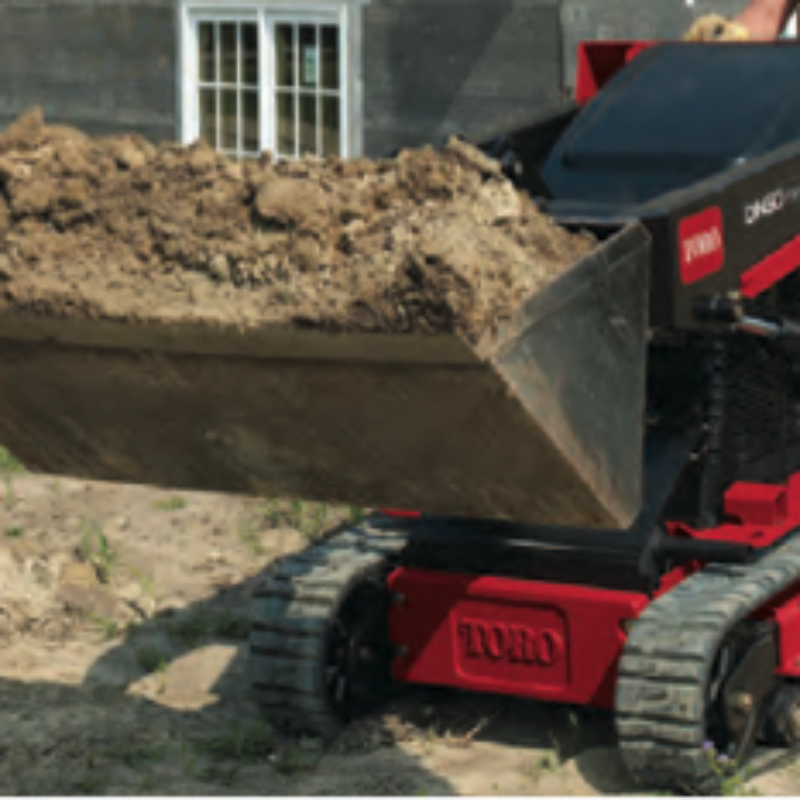Rent a Toro Dingo in Rochester, Ithaca and Western New York to Dig, Haul & Plant with Greater Productivity