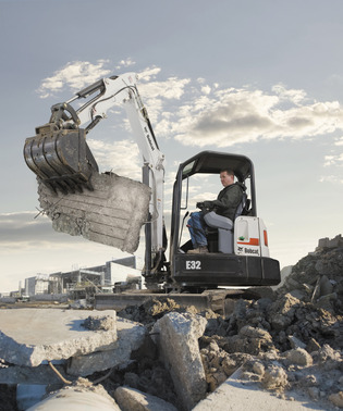 Picture of Bobcat E32 Mini Excavator Rental