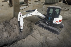 Picture of Bobcat E50 Zero Tail Swing Mini Excavator Rental