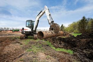 Picture of Bobcat E55 Mini Excavator Rental