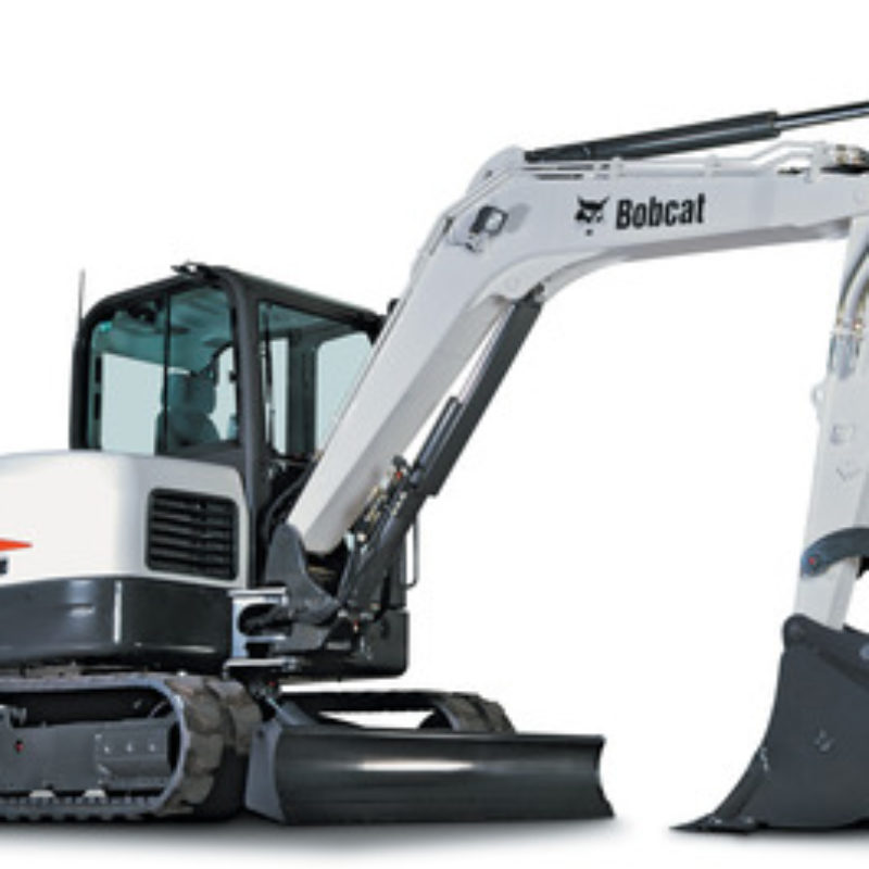 Mini Excavator Rental  - Bobcat E60