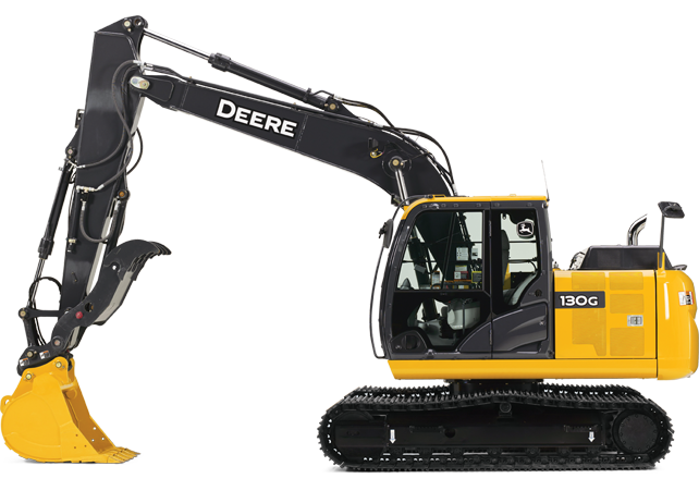 Picture of Excavator Rental - John Deere 130G