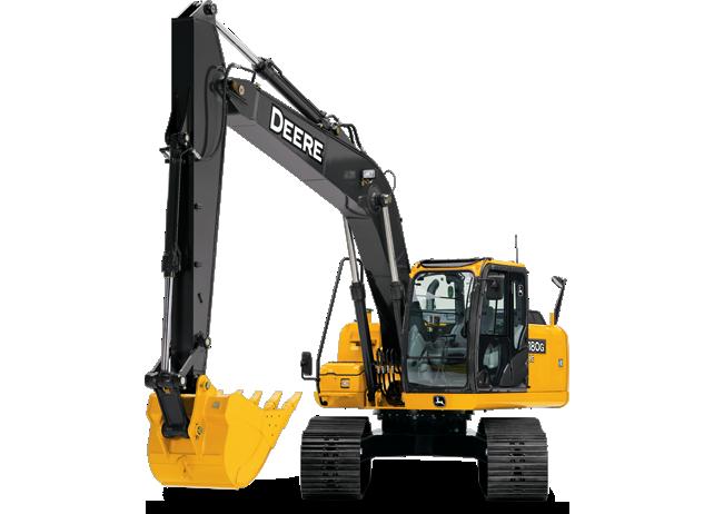 Picture of Excavator Rental - John Deere 180G LC