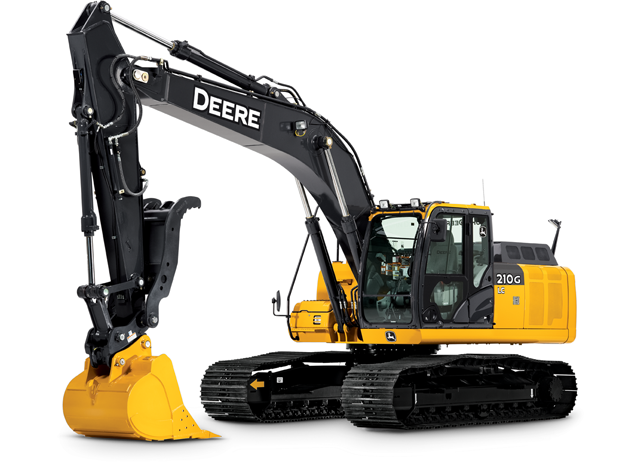 Picture of Excavator Rental - John Deere 210 LC