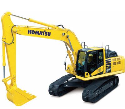 Picture of Rent Excavator - Komatsu - PC 240 LC-10