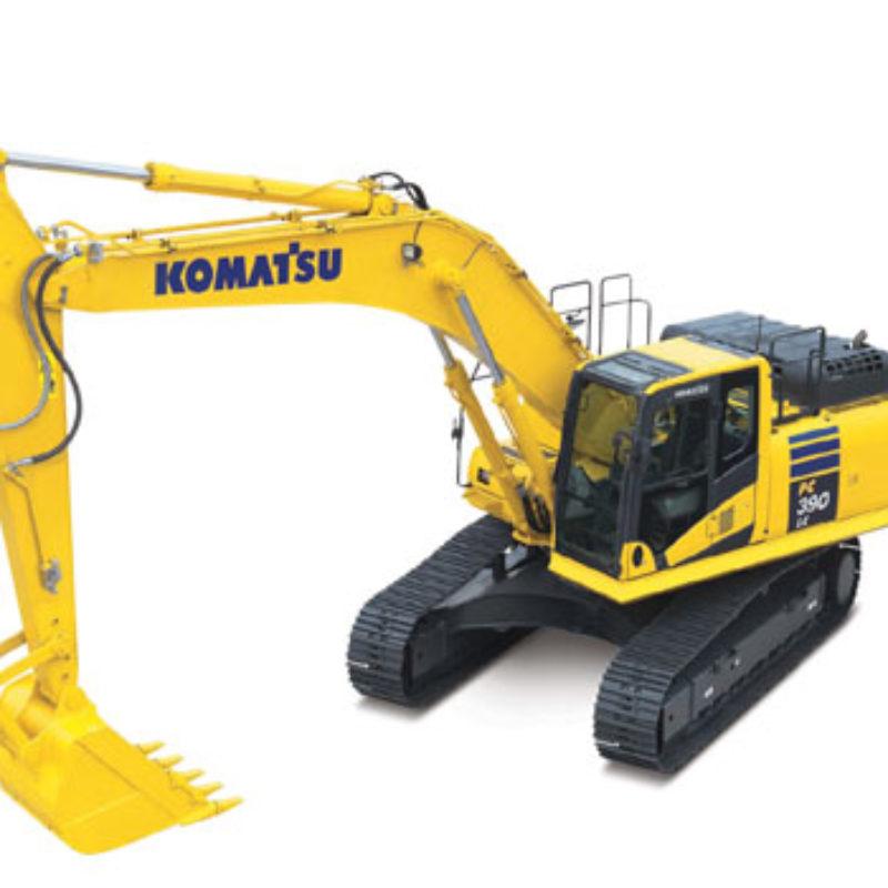 Rent Excavator - Komatsu - PC 390 LC-10
