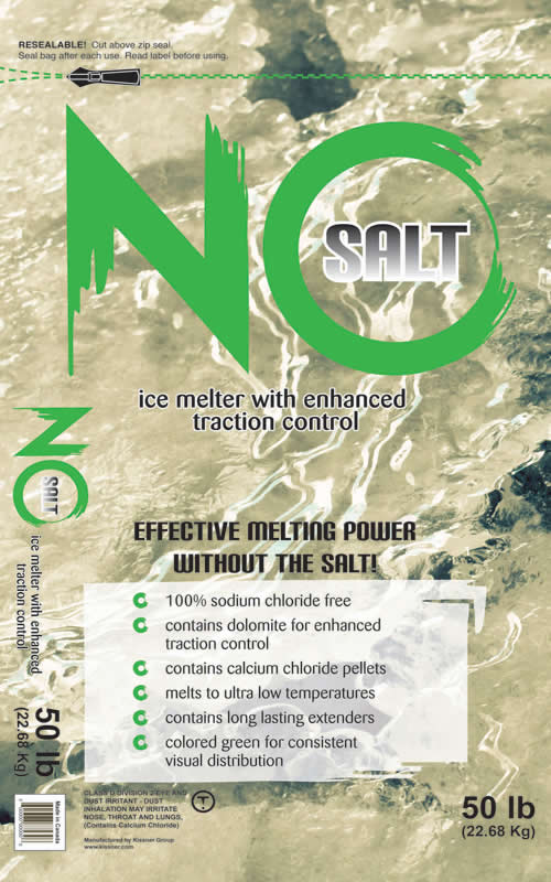 PIcture of No Salt Ice Melt and Deicer by Kissner
