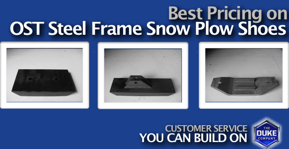 Picture of OST Steel Frame Snow Plow Shoes from the Duke Company