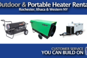 Picture of Outdoor Heater Rental and Portable Heater Rental in Rochester NY, Ithaca NY and Western New York