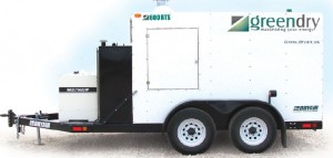Picture of Ground Heater Rental - 600 RTS GreenDry System by DryAir