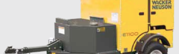 Ground Heater Rental – E1100 – by Wacker Neuson