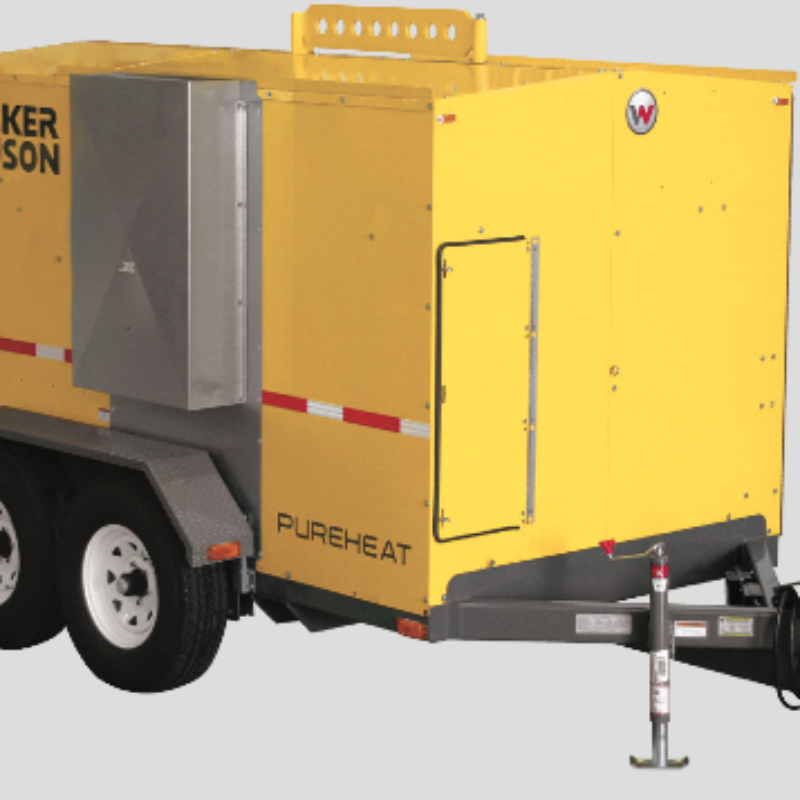 Pure Heat Ground Heater Rental - Wacker Neuson