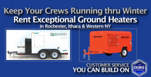 Picture of Rent Ground Heater in Rochester NY, Ithaca NY & Western NY
