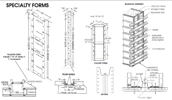 Picture of Specialty Concrete Forms - Symons Steel-Ply