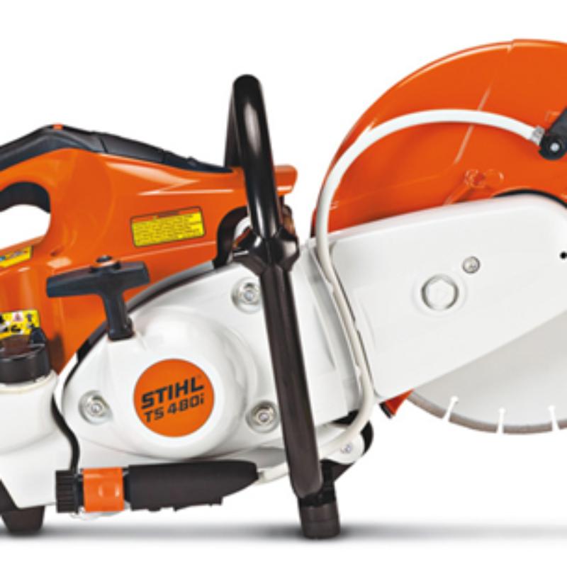 12 Inch Cut-Off Saw Rental - Fuel Injected - TS-480i - Stihl