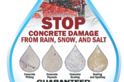 Picture of Stop Concrete Damage from Rain, Snow and Salt