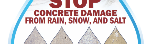 Stop Concrete Damage from Salt in Rochester and Ithaca NY