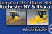 Picture of Equipment Rental Insights - Komatsu D37 Bulldozer