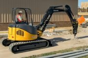 John Deere 50D Mini Excavator Rental