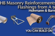 Buy HB Masonry Reinforcement & Flashings in Rochester & Ithaca NY