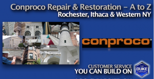 Conproco Concrete and Stone Preservation Products in W. NY