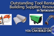 Tool Rental and Building Supplies in Syracuse NY