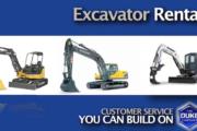 Excavator Rental