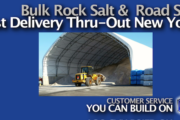 Bulk Rock Salt & Road Salt Available for Delivery Through-out New York