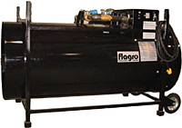 Construction Heater Rental - Dual Fuel - F-100T by Flagro