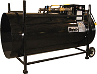 Construction Heater Rental - Dual Fuel - F-1500T by Flagro
