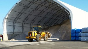 Bulk Road Salt Facility in Upstate NY