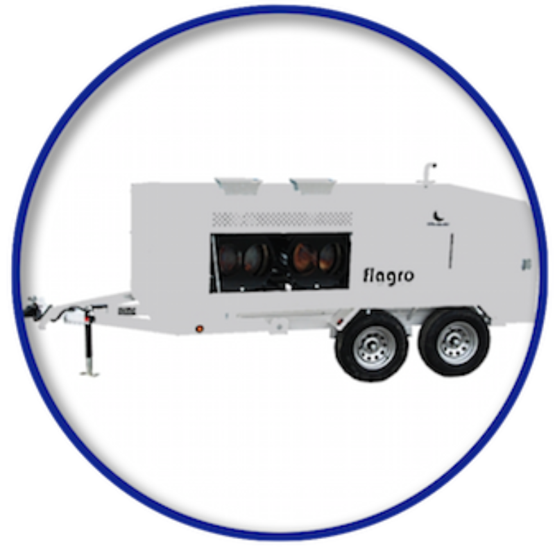 It's cold outside–not with Flagro FVO 1000TR
