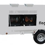 Tent Heater and Trailer Rental - Flagro FVO 1000TR