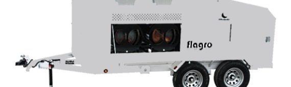 Flagro FVO 1000TR–Tent Heater and Trailer Rental