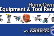 Homeowner Equipment Rental and Tool Rental from the Duke Company in Upstate NY