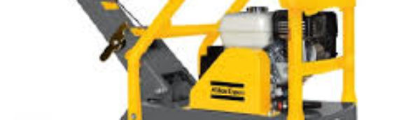 Atlas Copco LG200 Forward Reversible Plate Compactor – The Duke Company