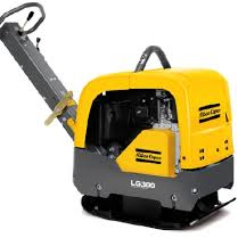 Atlas Copco LG300 Forward Reversible Plate Compactor Gas or Electric