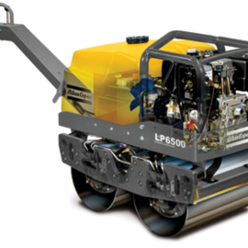 Atlas Copco LP6500 Duplex Rollers -- Duke Equipment Rental