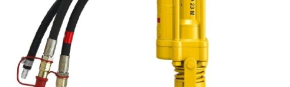 The Atlas Copco LHD 23 M Handheld Hydraulic Rock Drill — Duke Company Rochester NY