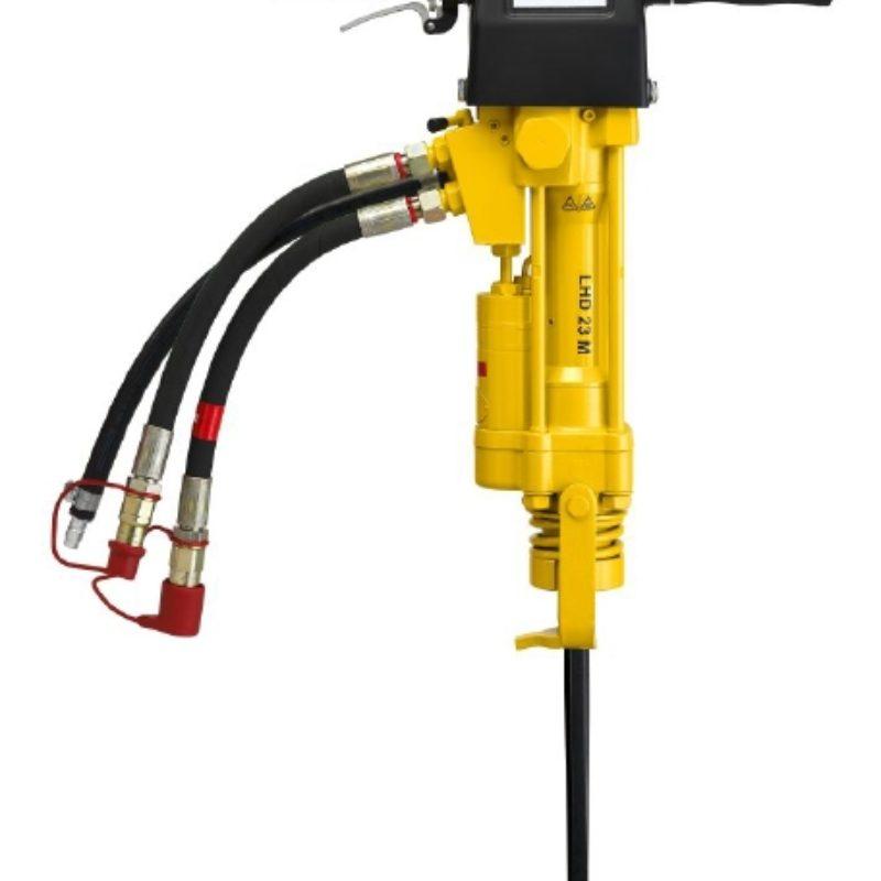 The Atlas Copco LHD 23 M Handheld Hydraulic Rock Drill -- Duke Company Rochester NY