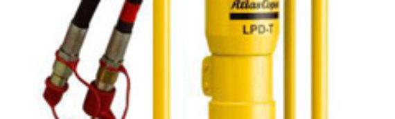 The Atlas Copco LPD-RV Post Driver — Duke Equipment Rental