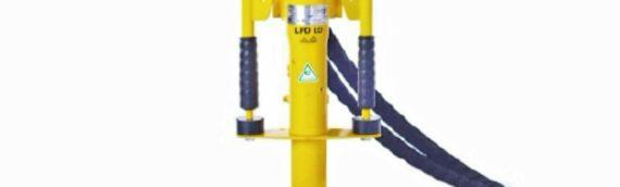 The Atlas Copco LPD LD T Hydraulic Post Driver
