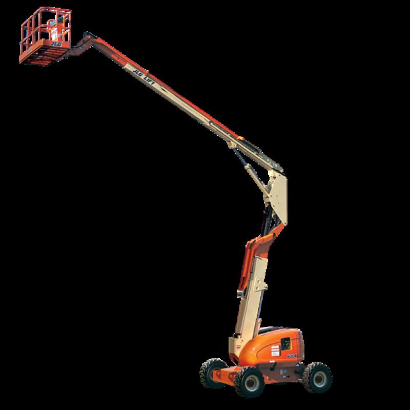 JLG 600A articulating Boom Lift--Duke Rentals